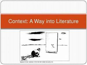 Context In Literature