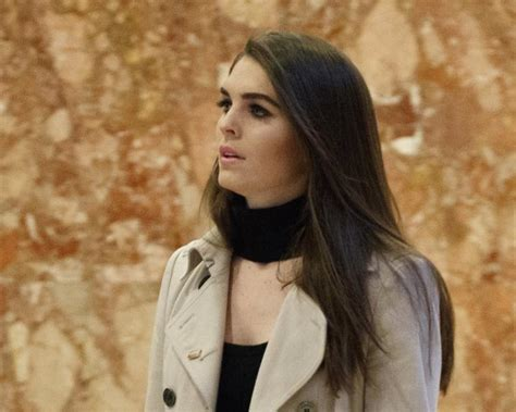 Hope Hicks and Annie McDonald subpoenaed