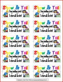 Show and Tell Coupon