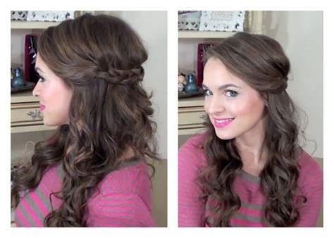 easy bridesmaid hair simple half up hairstyle my bridesmaids hairstyles