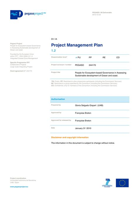 project management plan examples   ms word