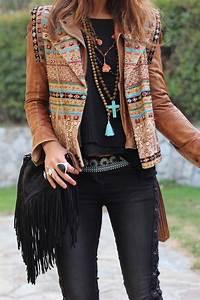 Style Bohème Chic Femme : 1001 looks parfaits d 39 automne hiver avec une tenue boh me chic ~ Preciouscoupons.com Idées de Décoration
