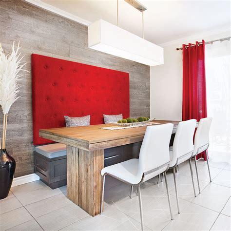 cuisine manger banquette design dans une cuisine au look lounge salle à