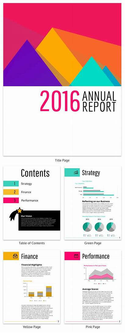 Paper Report Examples Templates Annual Business Example