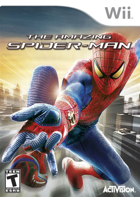 amazing spiderman nintendo wii game