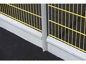 Panneaux Rigide Pour Cloture : poteaux axis pour cl ture en panneaux rigides contact ~ Edinachiropracticcenter.com Idées de Décoration