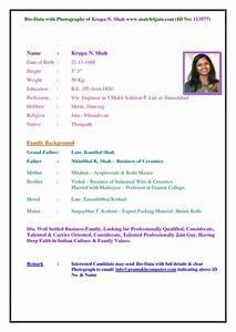 Free Sample Professional Bio Template Biodata For Applying Teacher Cover Letter Samples
