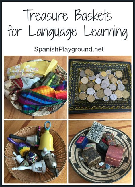 Montessori Treasure Baskets for Language Learning