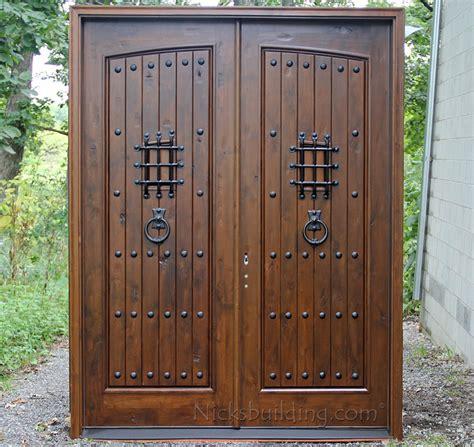 distressed doors distressed white knotty alder door