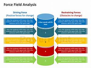 force field analysis editable powerpoint presentation With force field analysis diagram template