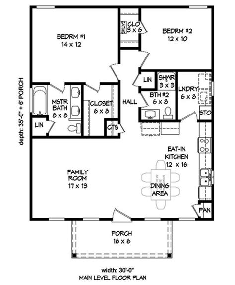floor plan main level   house plans  bedroom house plans bedroom house plans