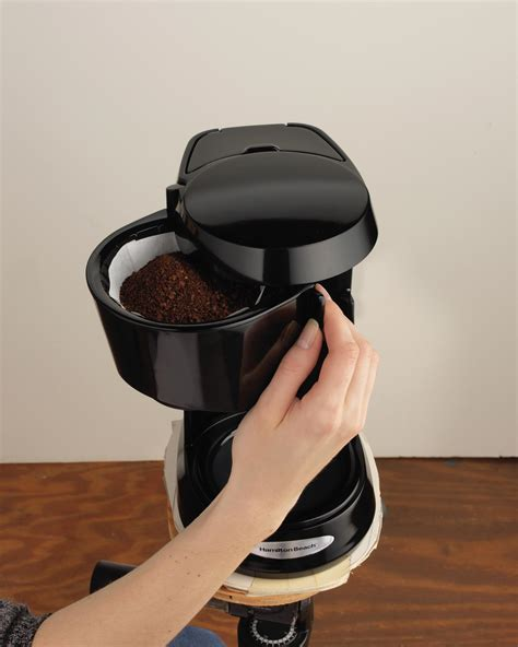 This might not be as easy to achieve with the pod capsules. Amazon.com: Hamilton Beach 5-Cup Switch Coffee Maker ...