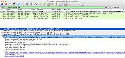 wireshark retrieving downloaded