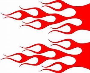 "Flame Vehicle Graphics Car Vinyl Decals (22"" x 7"") eBay"