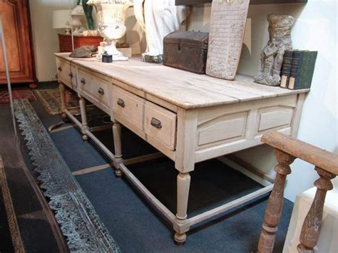 large kitchen island table large antique work table in oak sold office
