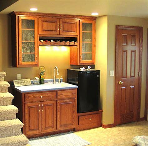 Kitchenette Cabinets custom bars distinctive cabinets