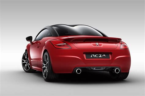 car peugeot new peugeot rcz r sports car details and pictures