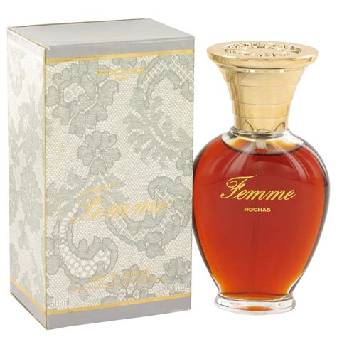 femme rochas 1 7 oz eau de toilette spray 50 ml by rochas for nib ebay