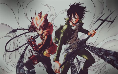Reborn Anime Wallpaper - hitman reborn wallpaper hd 70 images