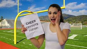How To Make The Cheer Team Cheer Tryout Tips Youtube