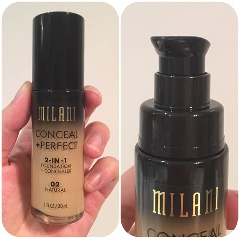 milani conceal perfect foundation bellyrubz