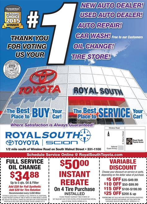 Royal South Toyota by Royal South Toyota Coupons