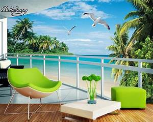 aliexpresscom beibehang tapete 3d wallpaper landschaft With markise balkon mit kuh tapete