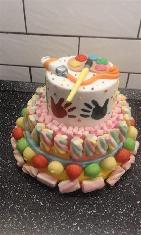 torte decorate  marshmallows facili  divertenti