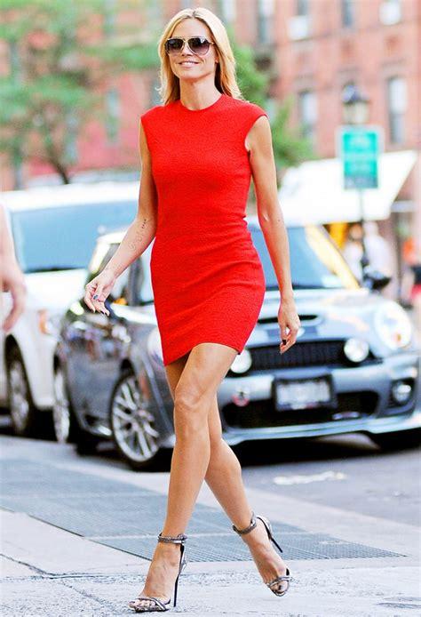 Heidi Klum Those Legs Though Hot Pics Us Weekly