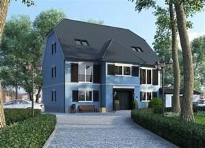 Stadtvilla Mit Garage : stadtvilla mit garage massiv bauen wilms ag ~ Lizthompson.info Haus und Dekorationen