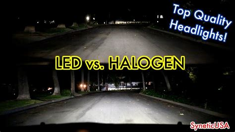 Led Vs Halogen Lights by Compare Led Lights To Halogen Decoratingspecial