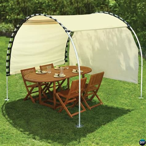 diy outdoor pvc canopy projects picture instructions