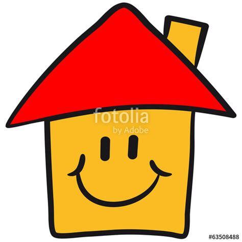 """""""lustiges Comic Smiley Haus"""" Stockfotos Und Lizenzfreie"""