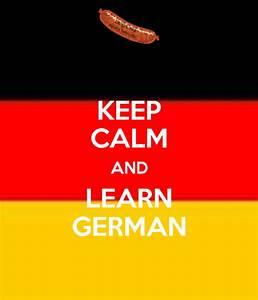KEEP CALM AND LEARN GERMAN Poster | oscar | Keep Calm-o-Matic