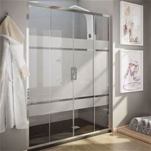 douche porte de douche With porte de douche coulissante avec recherche artisan pour salle de bain