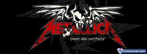 metallica seek  destroy  facebook cover maker