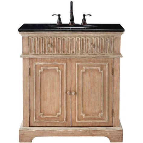 distressed kitchen cabinet home decorators collection manor 32 in vanity in 3376