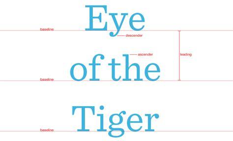 typography tutorial leading kerning tracking bigstock blog