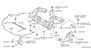 Front Suspension Nissan Pathfinder Jpn  Asia  Ruota Sinistra