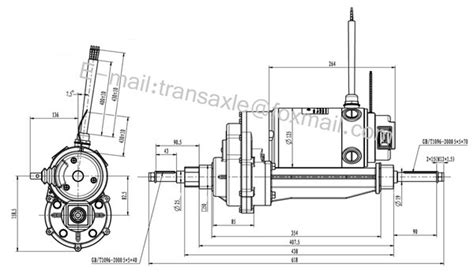 Ga Scooter Diagram by 24v 950 1400w Electric Dc Motor For Electric Car View