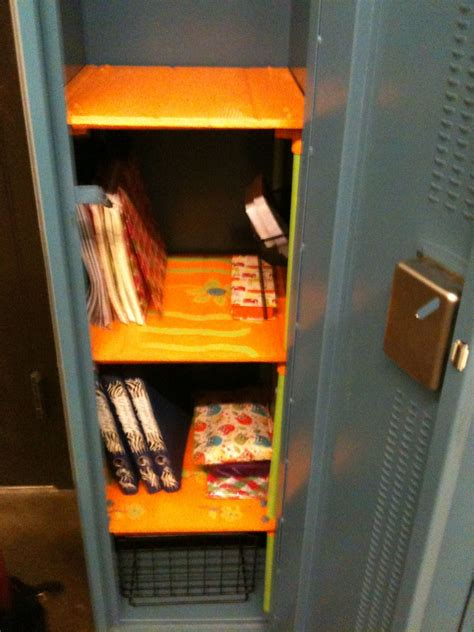 Locker Back To School Pinterest Locker Shelves