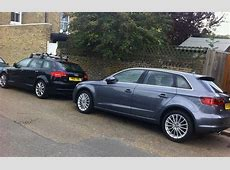 Audi A3 Sportback old and new Business Motoring
