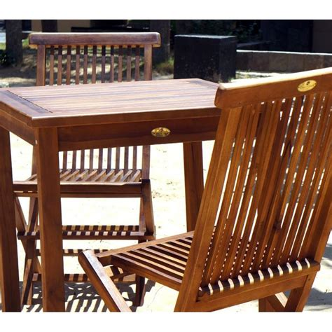 table et chaise de salon table et chaises de jardin en teck huilé salon 2 places