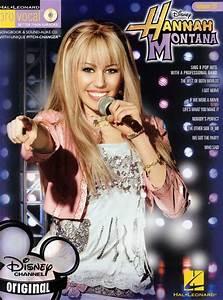 Livres De Chansons Miley Cyrus Hannah Montana