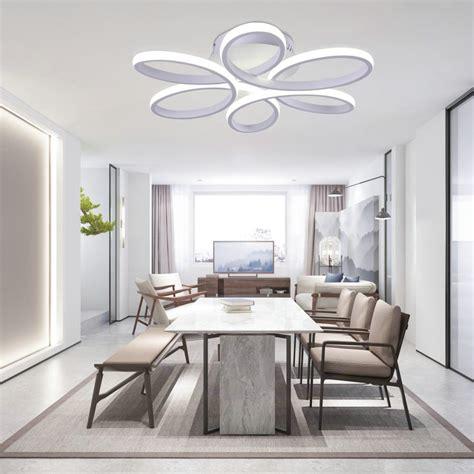 Led Lights In Dining Room by Led Flush Mounting Flower Light Modern Led Ceiling Light