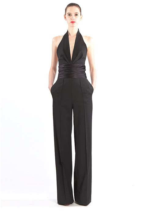 formal black jumpsuit catherine malandrino a jumpsuit for a formal occasion