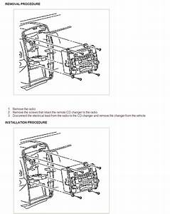 Service Manual  2006 Cadillac Srx Liftgate Panel Removal