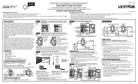 Leviton Vrs Installation Manual Setup Guide