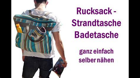 Flächenvorhang Selber Nähen by Rucksack Strandtasche Badetasche Selber N 228 Hen