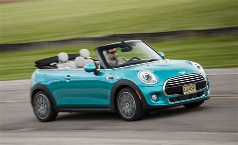 Mini Cooper Car : 2016 Mini Cooper Convertible Automatic Test
